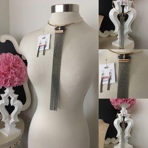 🌺BCBG  Choker Necklace Set
